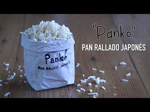 "Como hacer Pan rallado estilo Japonés ""Panko"" - Homemade Panko Japanese Breadcrumbs"