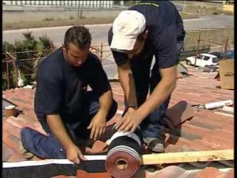 La semplice posa del sistema tetto Sardategole