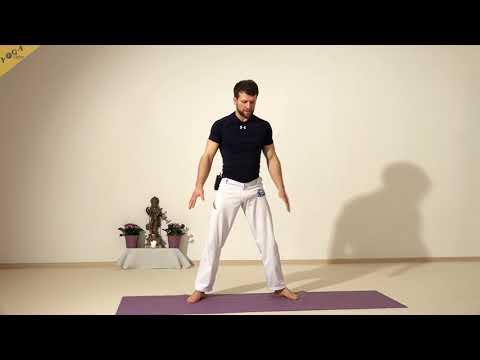 Muskelaufbau mit Yoga ohne Hilfsmittel mit Alex 1, für Einsteiger