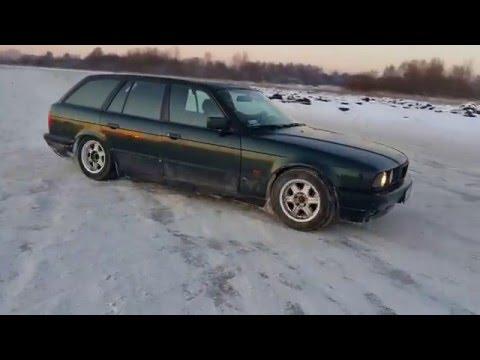 Тест драйв BMW 520 газ бензин и дрифт [ Drift ]