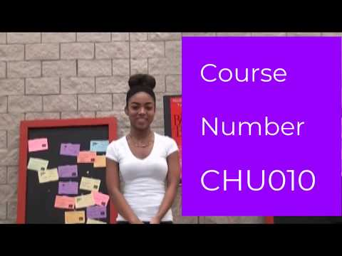 Principles of Human Services Course Selection Video