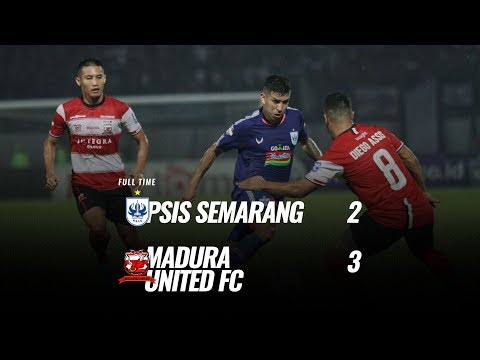 PSIS Semarang - Мадура Юнайтед 2:3. Видеообзор матча 17.12.2019. Видео голов и опасных моментов игры