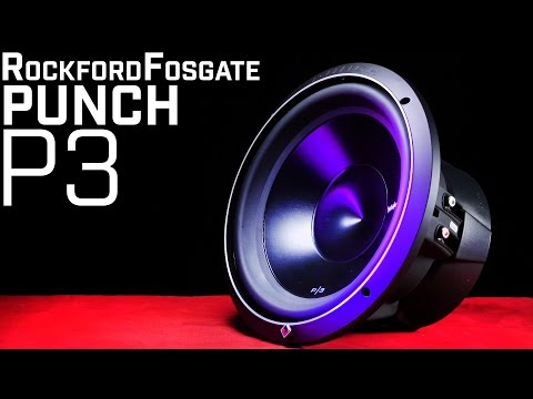 Rockford Fosgate P3 Subwoofers – PUNCH Series Review