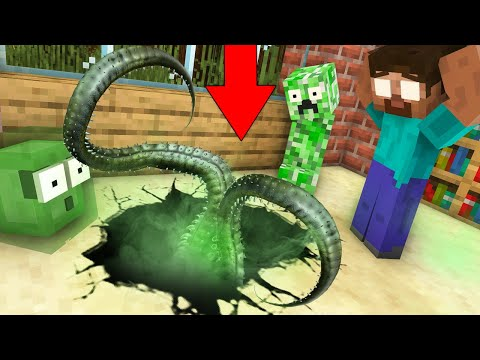Monster School : FOUND TREASURE WITH VILLAIN - Minecraft Animation
