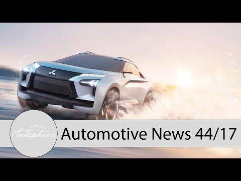 NEWS: Citroen C4 Cactus, Mercedes-Benz E350 (M 264-Motor), Nissan Elektro-Konzepte - Autophorie