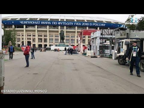 Ya estamos en Rusia para el Mundial 2018
