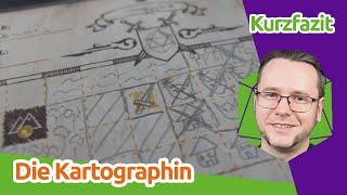 Die Kartographin - Brettspiel-Kurzrezension   staygeeky