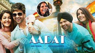 Aadat Song - Happy Hardy And Heer | Himesh Reshammiya & Ranu Mondal | HUNGAMA