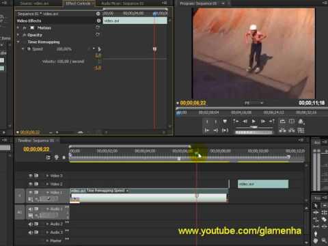 Adobe Premiere Pro CS4 – Frame Hold e Time Remapping | Video Tutoriais