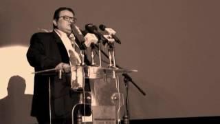 """بالفديو / وزارة الثقافه تكرم  """"رجل المسرح لينين الرملى""""  بالمسرح القومى"""