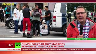 Finland Stabbing: Deadly attack being investigated as terrorism, suspect 18yo Moroccan