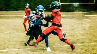 FALCONS UNITED 10U 🔥vs. Central Dekalb Jaguars Blue Youth Football Highlights