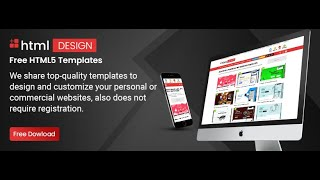 Free HTML Templates – Get Responsive Free HTML Website Template Services