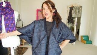 How To Sew Japanese Style Zero Waste Coat