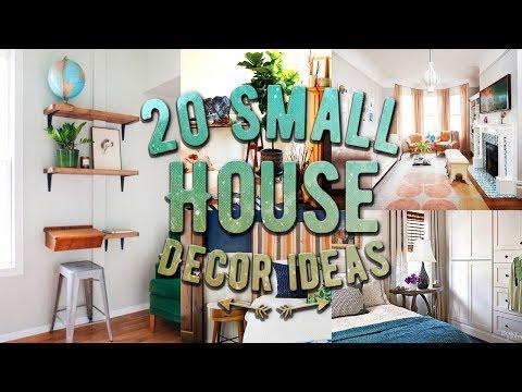 20 Small house decor ideas