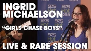 Ingrid Michaelson - Girls Chase Boys (Live & Rare Session) High Quality Audio