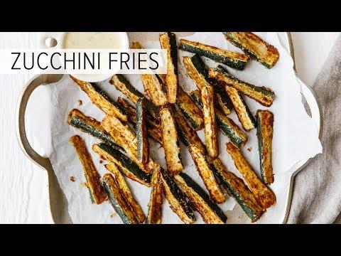 ZUCCHINI FRIES | gluten-free, low-carb, keto