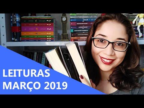 LEITURAS DE MARÇO 2019 ? | Biblioteca da Rô