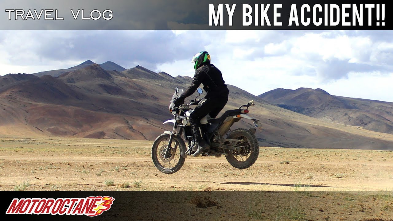 Motoroctane Youtube Video - I fell from my bike | Hindi | MotorOctane