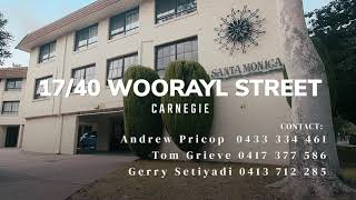 17/40 Woorayl Street, Carnegie