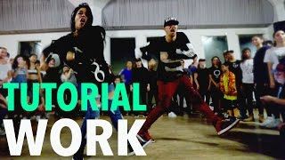 """WORK"" - Rihanna Dance TUTORIAL | @MattSteffanina Choreography (#DanceCoverContest)"