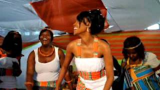 Muvhango's Millicent Makhado dancing on her wedding day