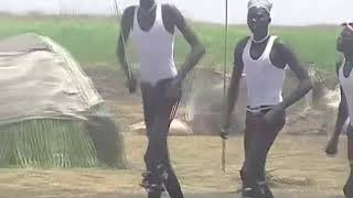 South Sudanese Nuer  Cultural Dancing In Juba Town