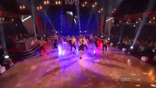 Kylie Minogue - Get Outta My Way (live on Dancing With The Stars 26/10/2010)