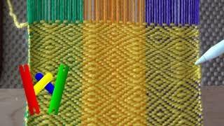 Multi-Heddle Weaving On Rigid Heddle Loom Using IWeaveIt - Part II