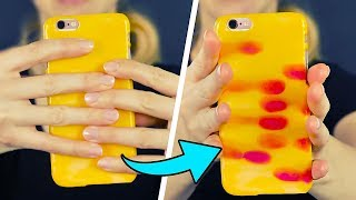 15 TOTALLY COOL DIY PHONE CASES - Video Youtube