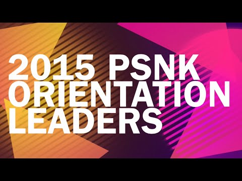 PSNK Orientation Leaders