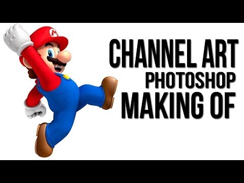 Youtube Channel Art - Photoshop