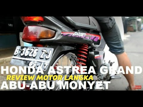Video ORIGINAL MODIFICATION HONDA ASTREA GRAND 1997 Full HD
