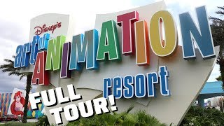 Disneys Art Of Animation Resort - FULL TOUR
