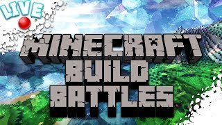 MineCraft Live Stream! BUILD BATTLESSSS!