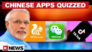 Centre Fires Questionnaire To 59 Chinese Apps Over Data Security - Download this Video in MP3, M4A, WEBM, MP4, 3GP