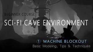 Modelando uma caverna 3D