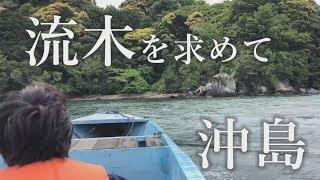 【沖島 もんて便り】流木集め