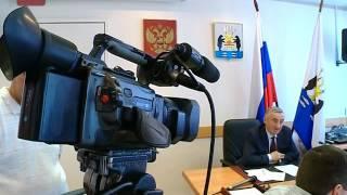 Мэр Юрий Бобрышев провел пресс-конференцию