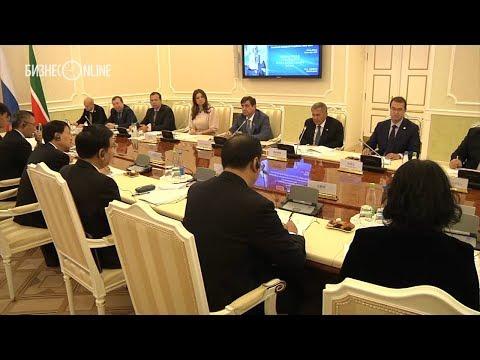 Минниханов заявил, что товарооборот Татарстана с Китаем вырос почти в два раза с прошлого года