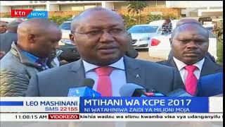 Waziri wa teknolojia Joe Mucheru azindua shughuli za mtihani wa kitaifa KCPE katika kaunti ya Nyeri