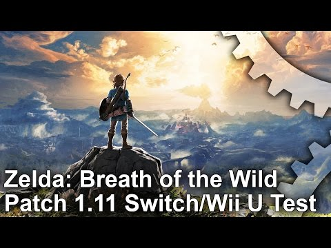 Zelda: Breath of the Wild – Patch 1.11 Switch/Wii U Frame-Rate Tests!