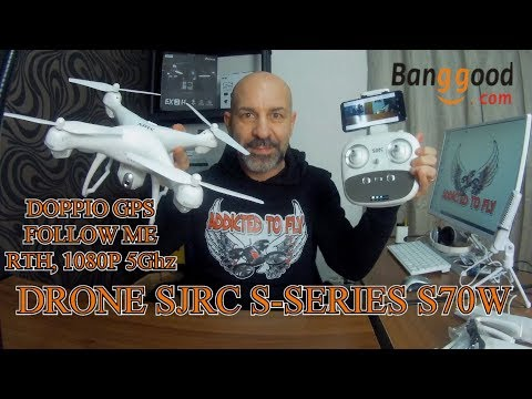 SJRC S-SERIES S70W TUTORIAL ITA
