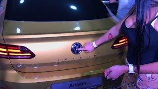 Знакомство с новым Volkswagen Arteon 2017