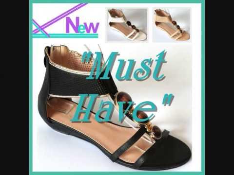 NEU DamenSchuhe Sandalen Wedges T-Straps GR. 36-41 Damen Schuhe T-Riemen Wedges
