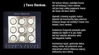 """Video thumbnail of """"Andrius Mamontovas - Į Tavo Rankas"""""""