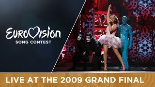 Kejsi Tola - Carry Me In Your Dreams (Albania) Live 2009 Eurovision Song Contest