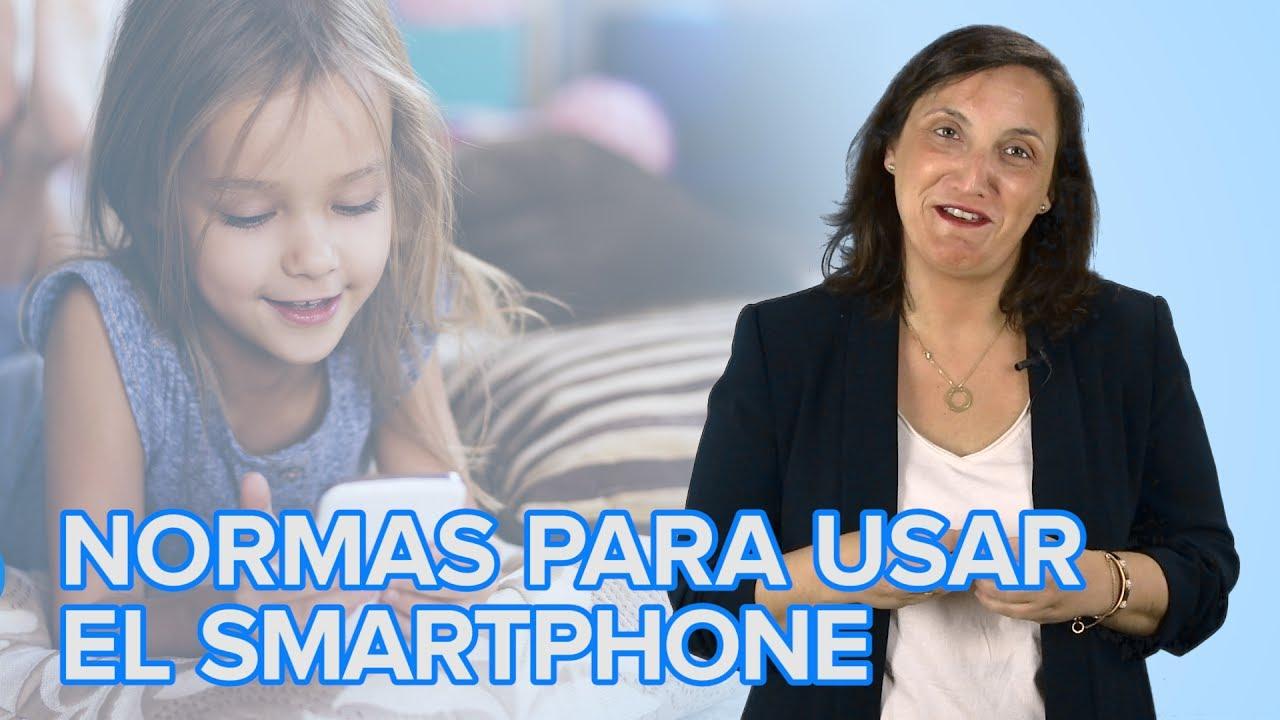 Cómo poner límites y normas en el uso de smartphones a los niños