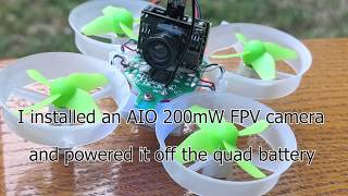 Flying a converted Eachine Quadcopter FPV