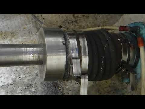 Dripless shaft seal needs attention